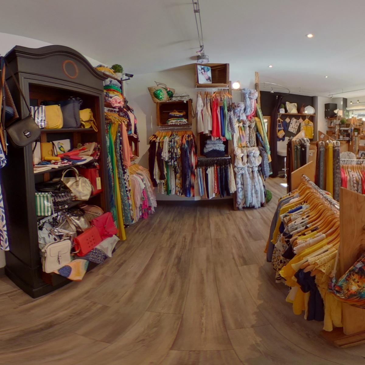 Visite virtuelle 360° à Nérac (47600) du magasin de prêt-à-porter Pourquoi pas