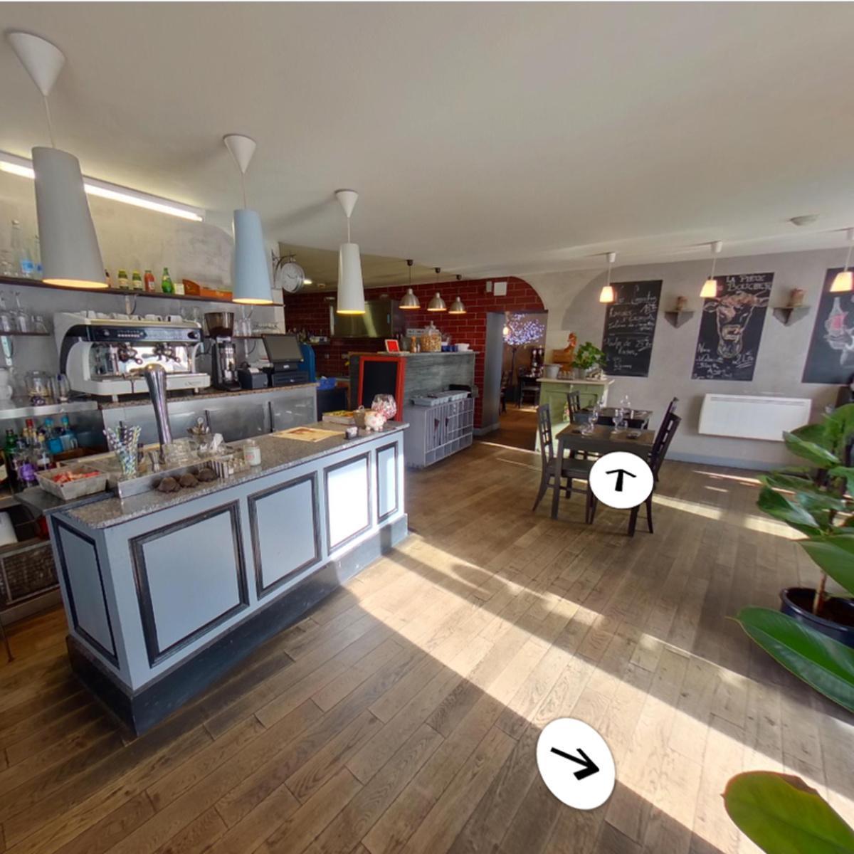 Visite virtuelle 360° à Condom (32100) du restaurant Le Sarment