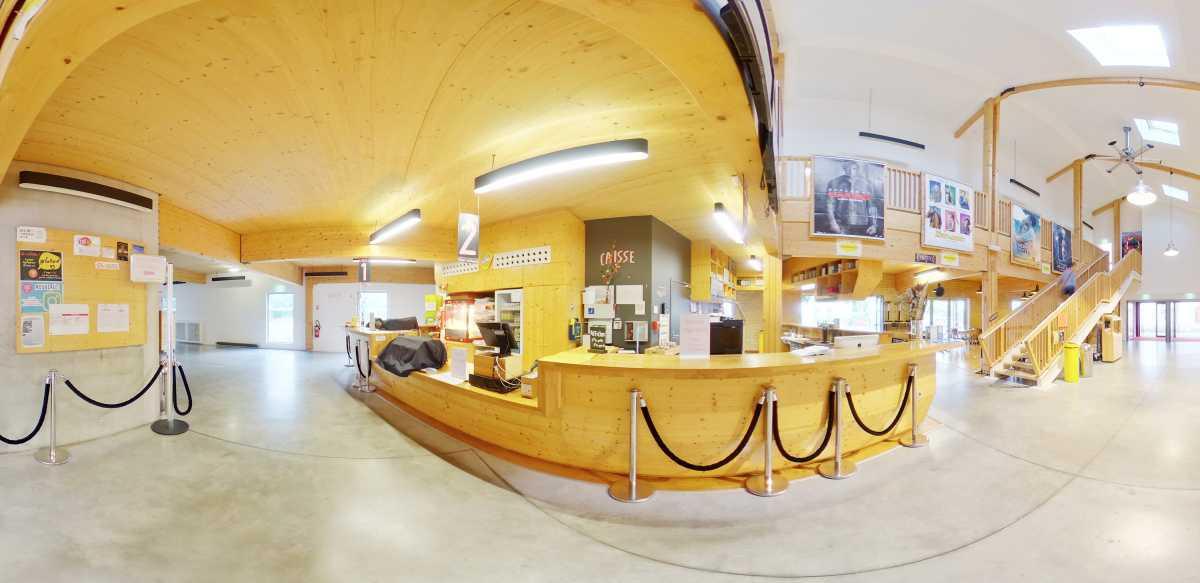 Visite virtuelle 360° à Auch (32000) du Ciné 32