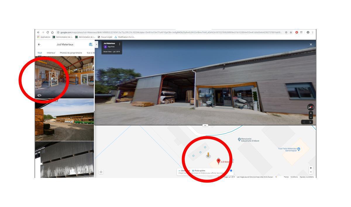 Contact visite virtuelle 360°
