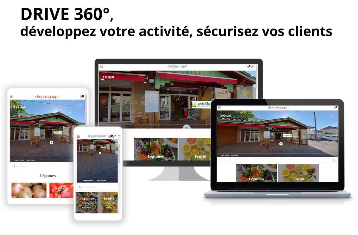 Performances 2020 des visites virtuelles 360° App and Print.