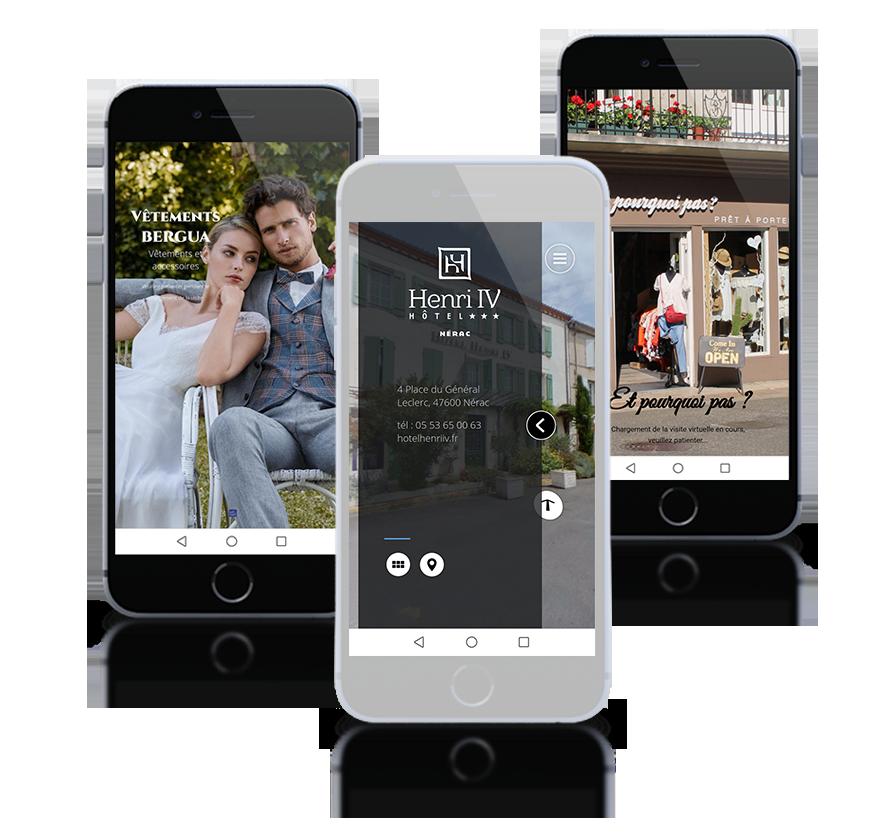 Transformez votre visite virtuelle en application et fidélisez...
