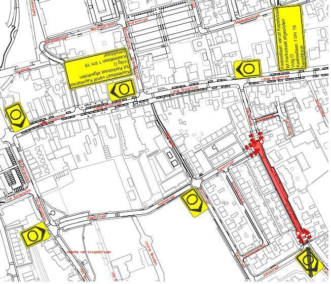 Verkeersmaatregelen fase 2