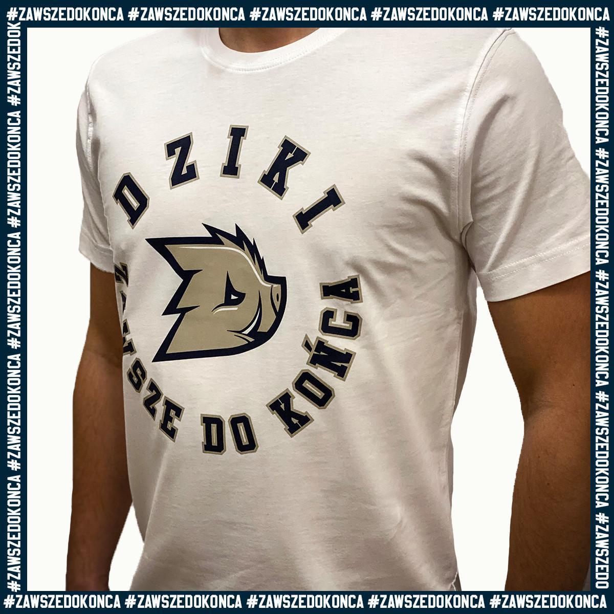 "T-shirt ""Zawsze do końca"""