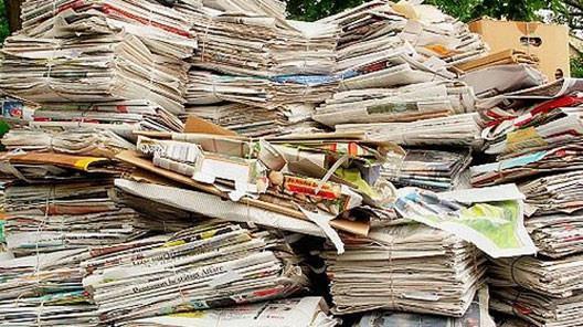 Huisvuil, Grofvuil en oud papier