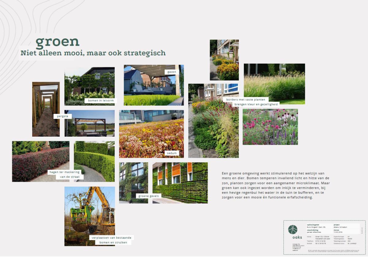 Een groene tuin draagt bij aan de gezondheid van mens en klimaat