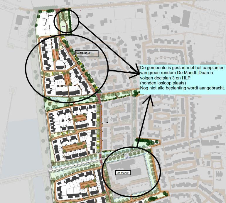 Gemeente Breda gestart met groenaanleg