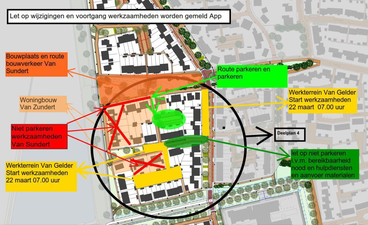 Wijziging parkeren i.v.m. start werkzaamheden Van Sundert