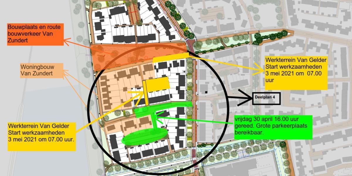 Maandag 3 mei start werkzaamheden Witrikweg en het kleine parkeerterrein