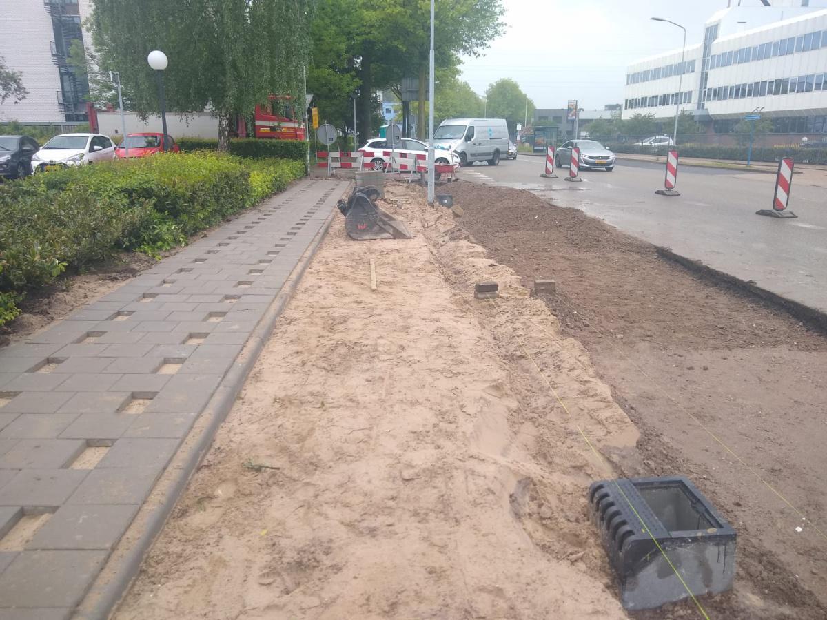 Kruisingen Pascalstraat - Galvanistraat Ede