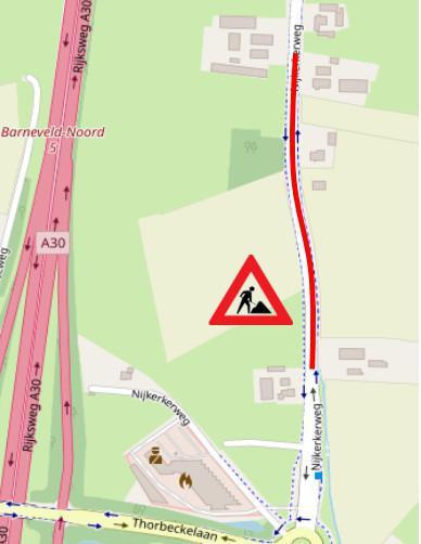 Planning uitvoering (Nijkerkerweg) Bloemendal