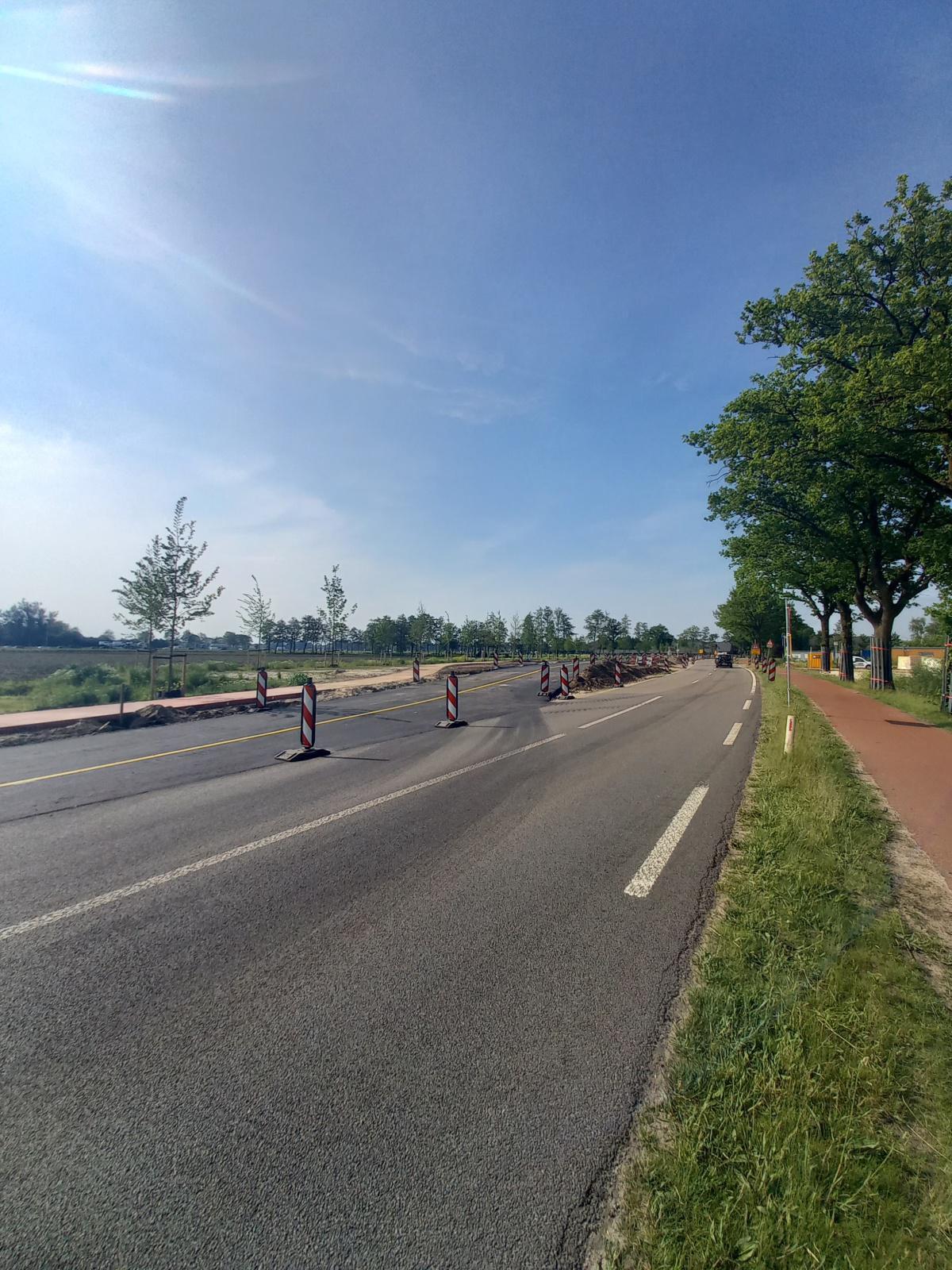 Foto's uitvoering (Nijkerkerweg) Bloemendal
