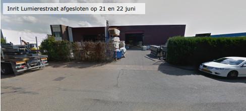 Kruisingen Voltastraat, Niels Bohrstraat