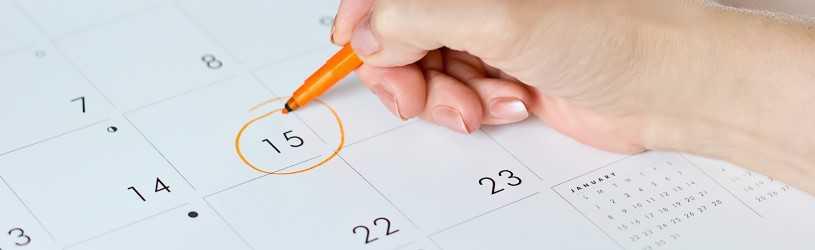Planning Bouwvak 2021 (Juli/Augustus)