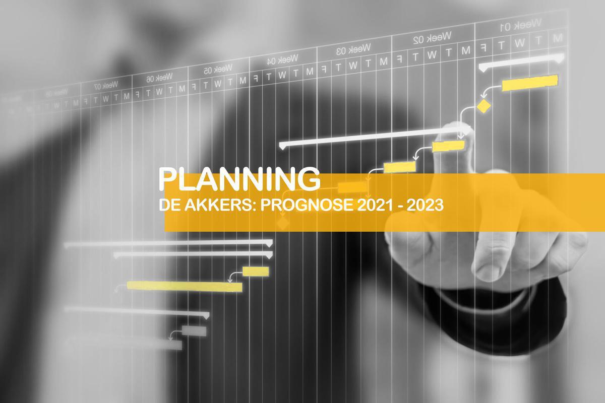 De Akkers: Planning van de werkzaamheden