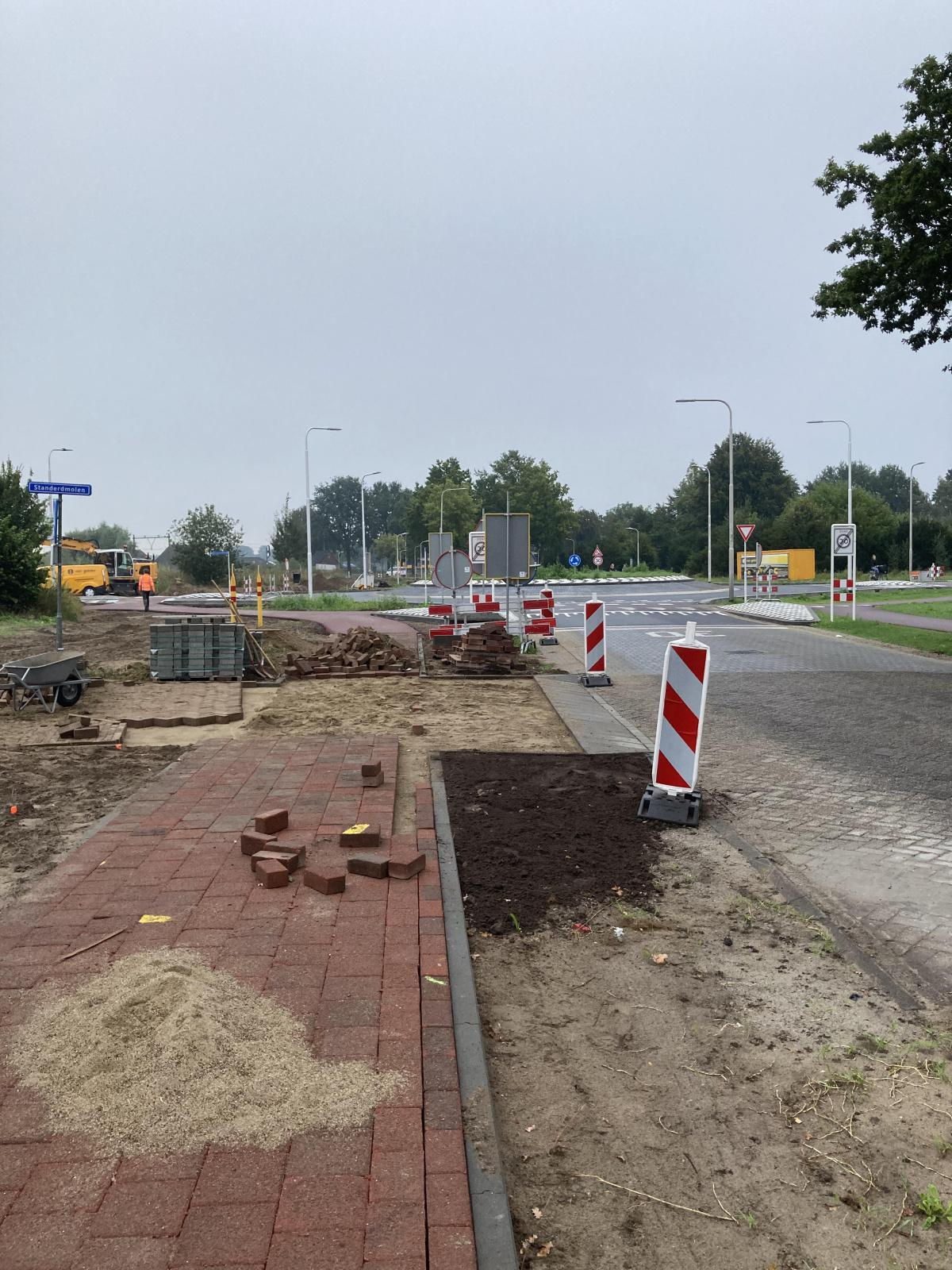 Update werkzaamheden 15 september en openstelling rotonde
