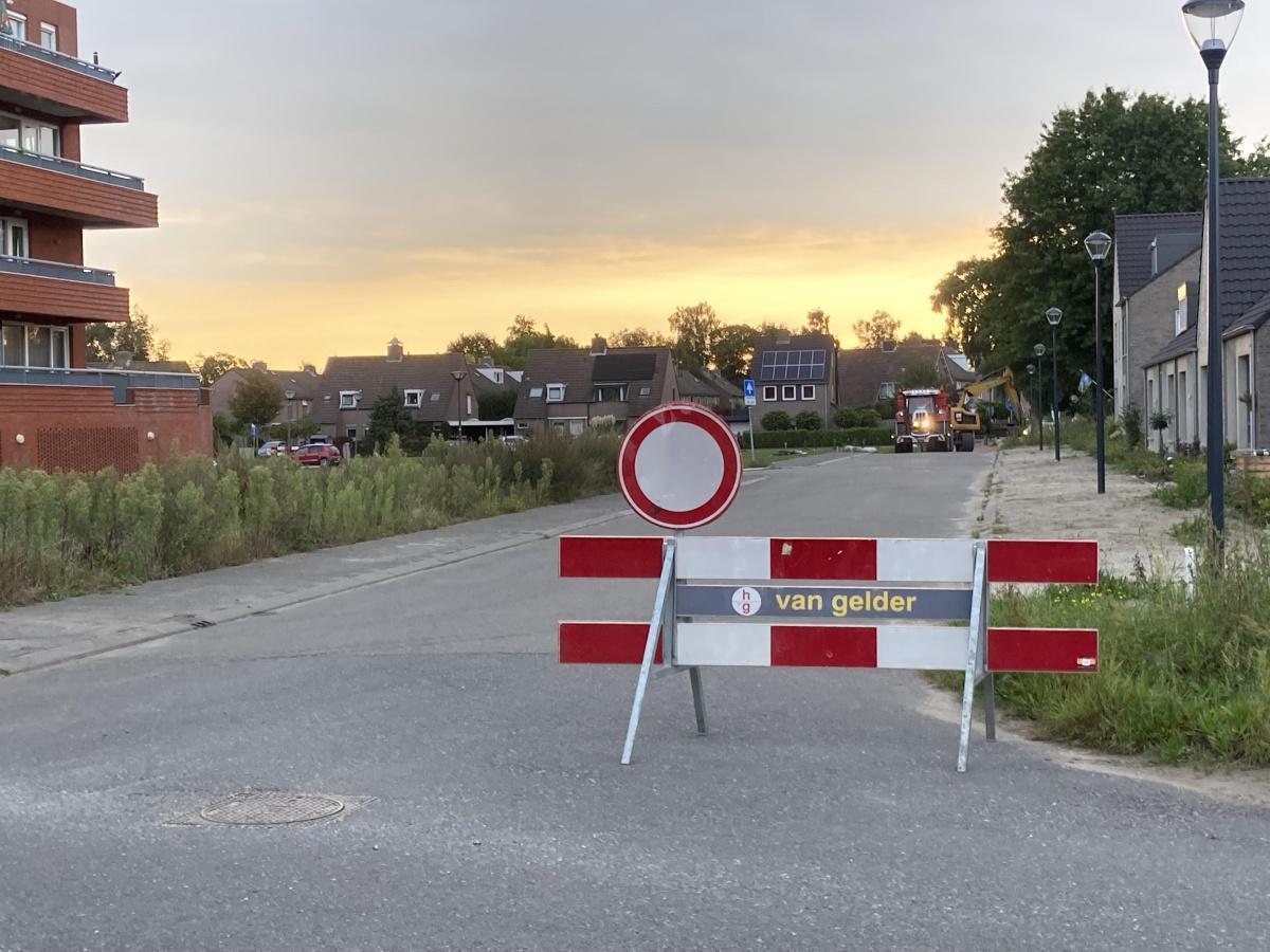Werkzaamheden Kriekenstraat zijn gestart!