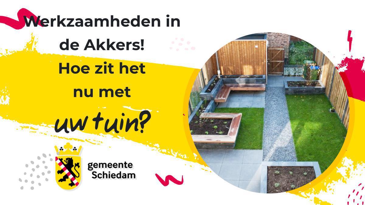 De Akkers: Hoe zit het met uw tuin en het hoogte verschil