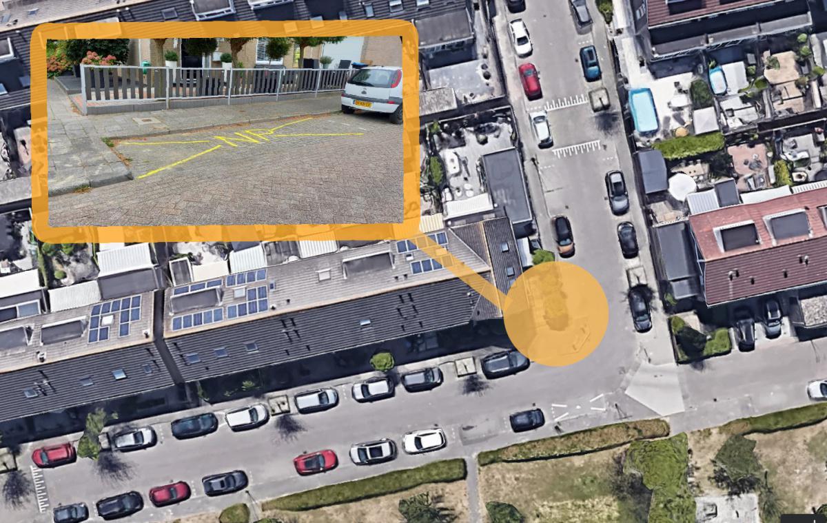 De Akkers: Parkeerplaats uit veiligheidsoverwegingen opgeheven