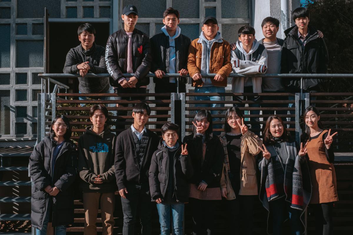 2019년 청소년부 단체사진