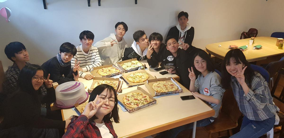 2019.03.31 청소년부 김준우 송별 및 산책