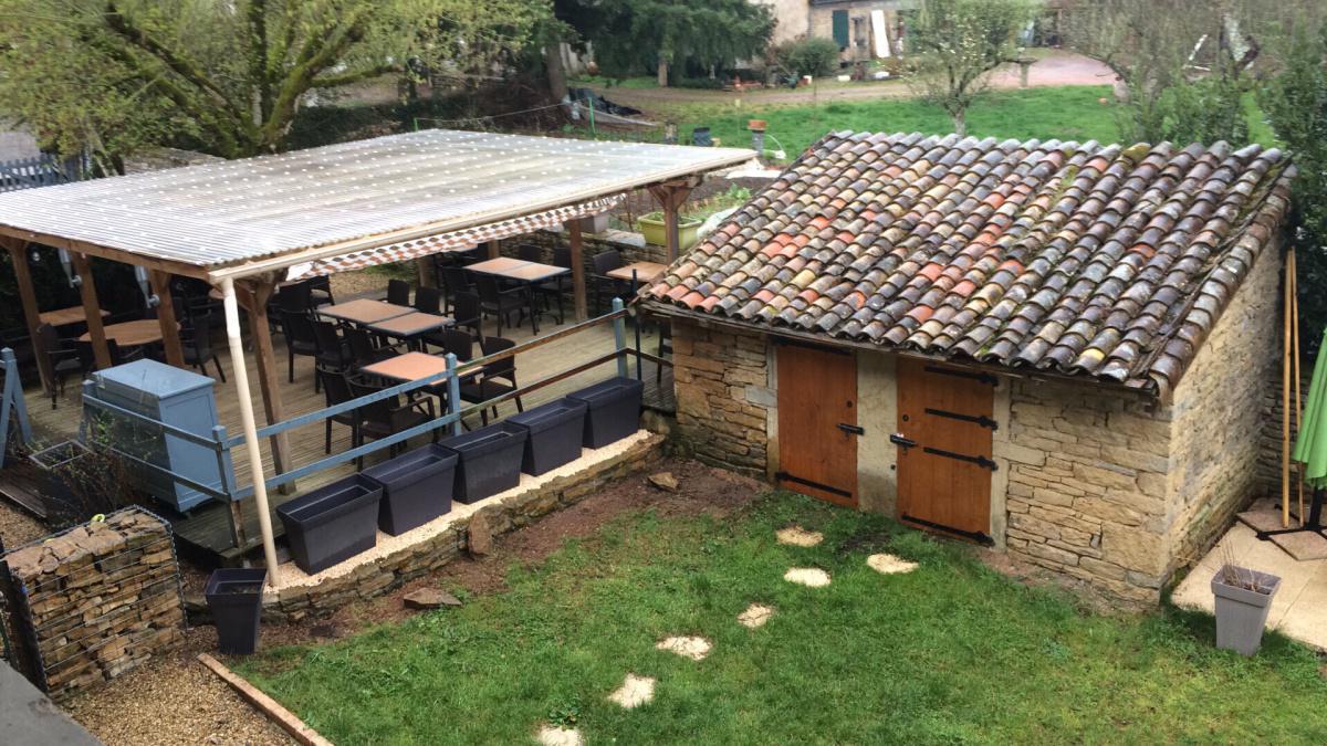 Les travaux de la Terrasse