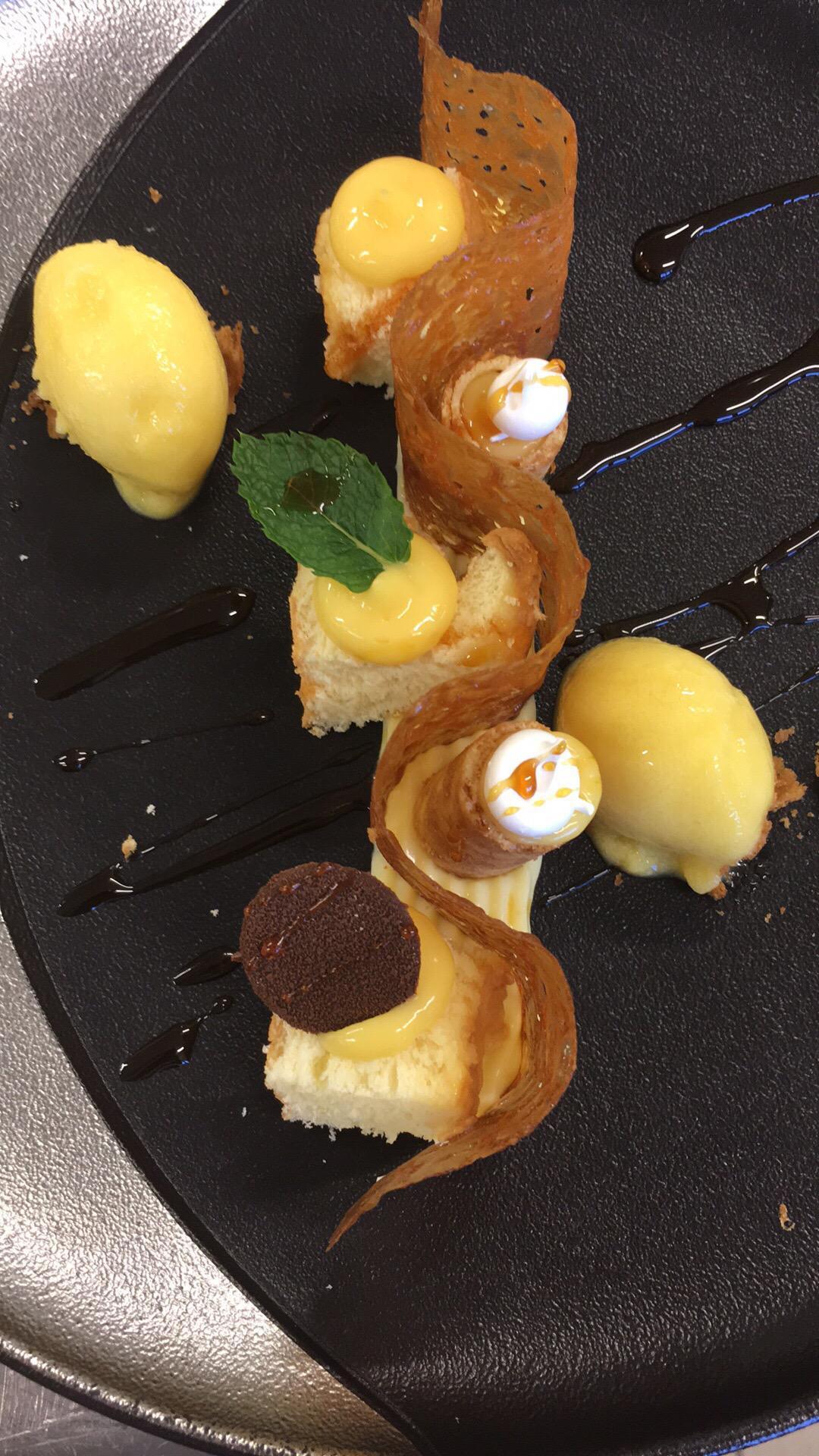 La carte des Desserts en quelques photos
