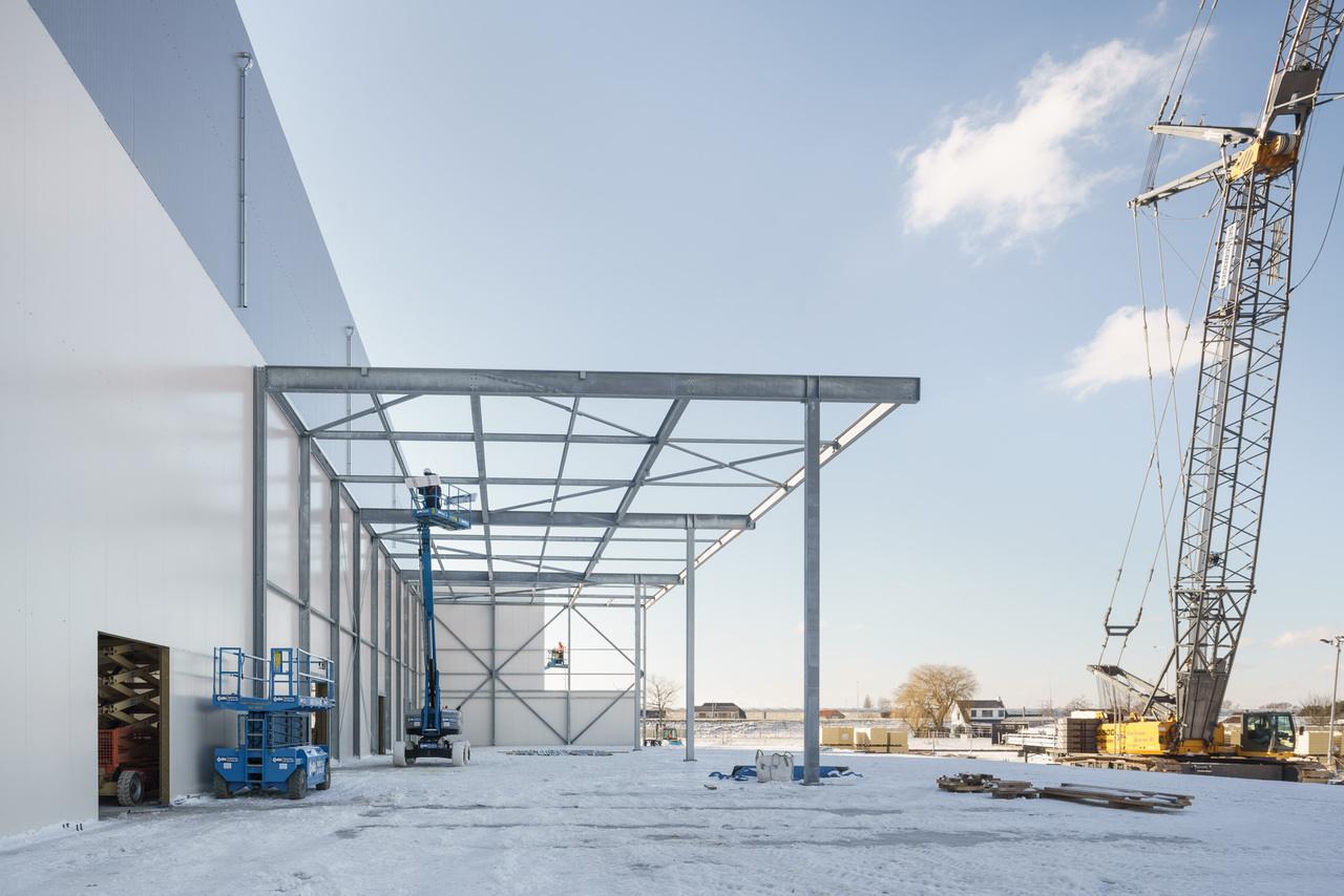 Staalconstructie Cool Control IV | Honderdland Maasdijk