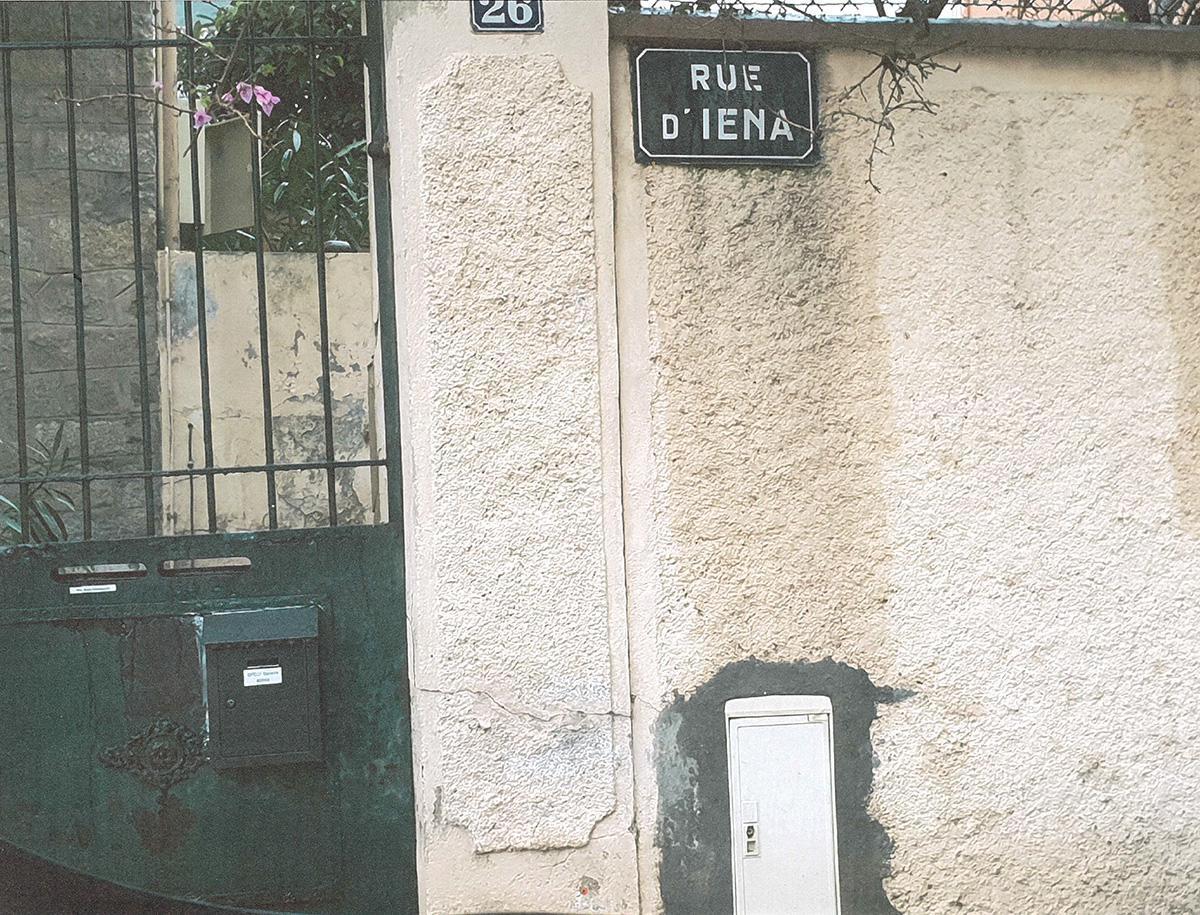 I comme rue d'Iéna
