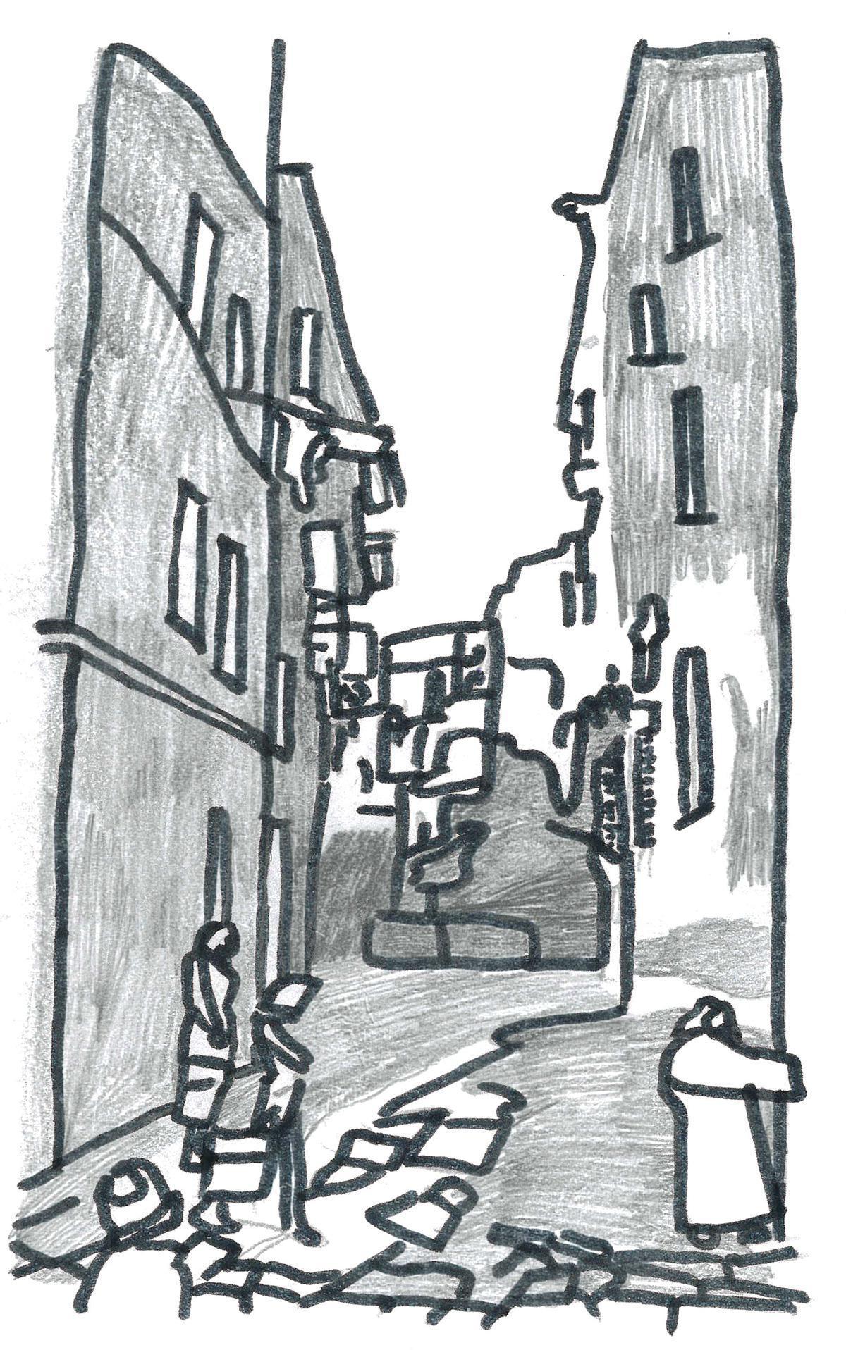 S comme rue Sainte Claire