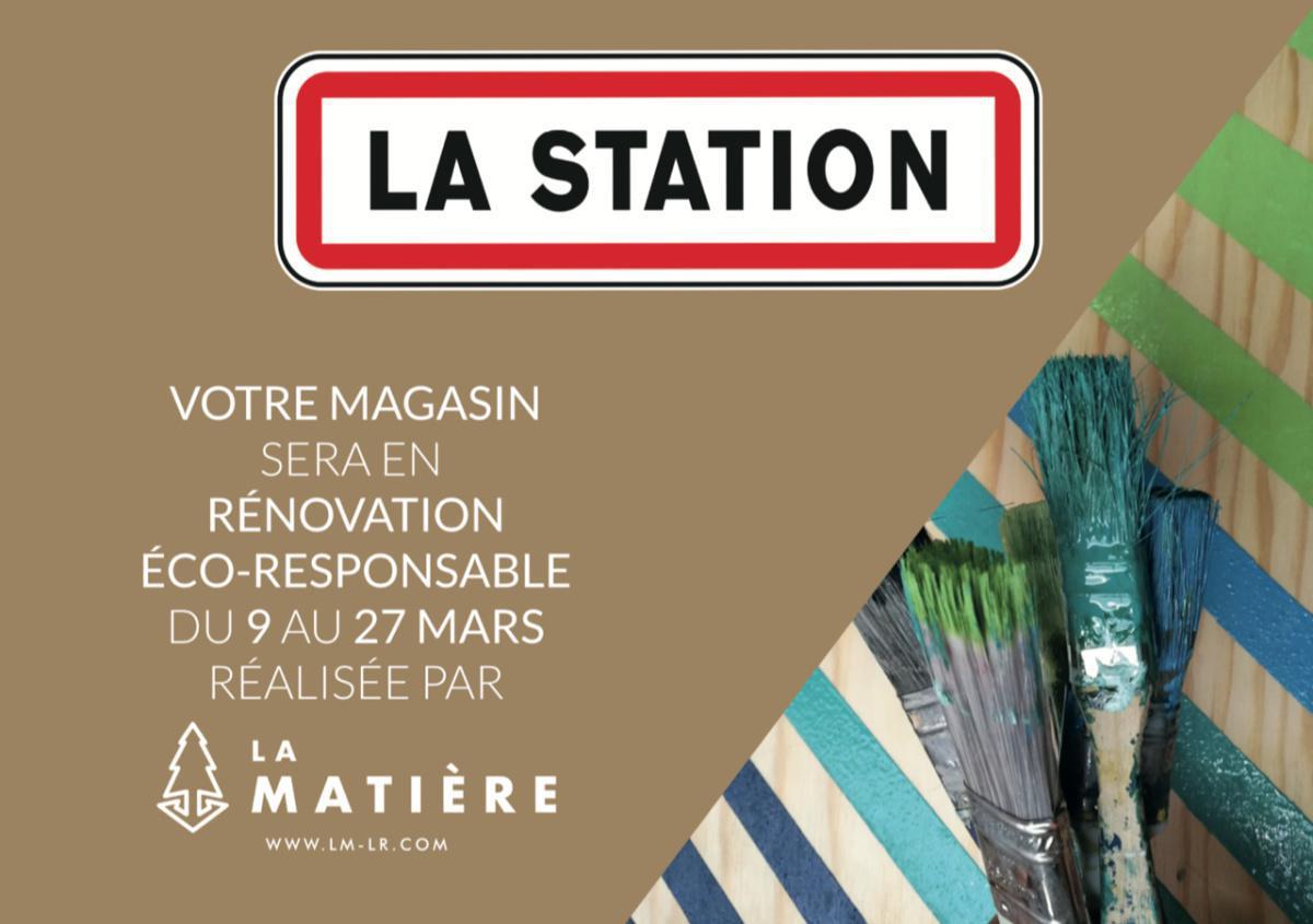 La Station x La Matière