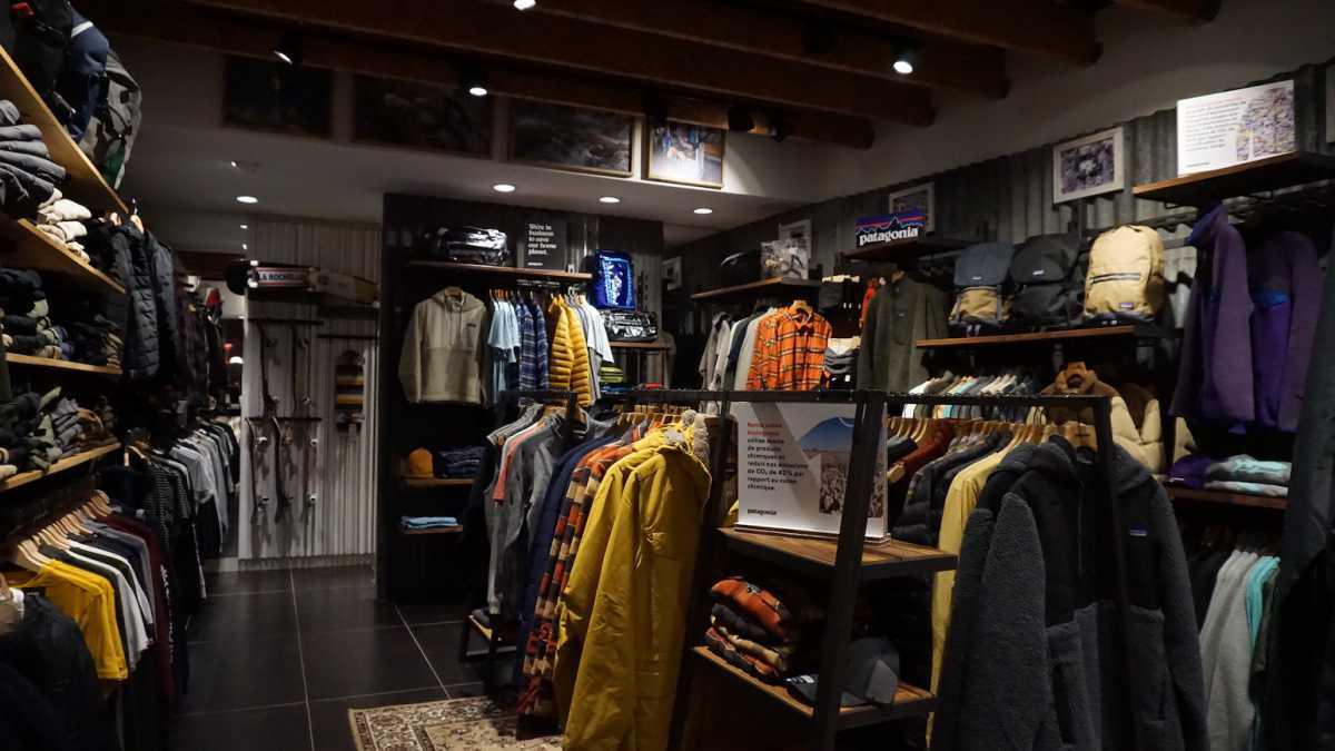 Shop in shop Patagonia