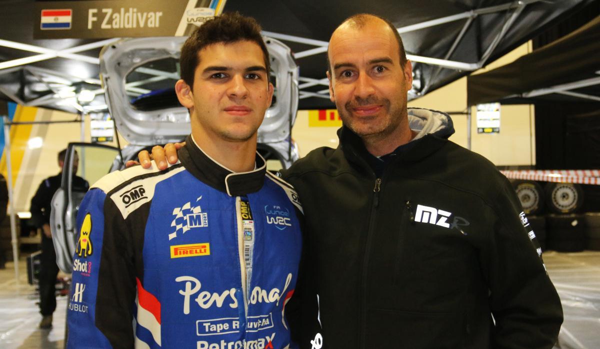 XEVI PONS, 'COACH' DE FABRIZIO ZALDÍVAR EN EL JUNIOR WRC