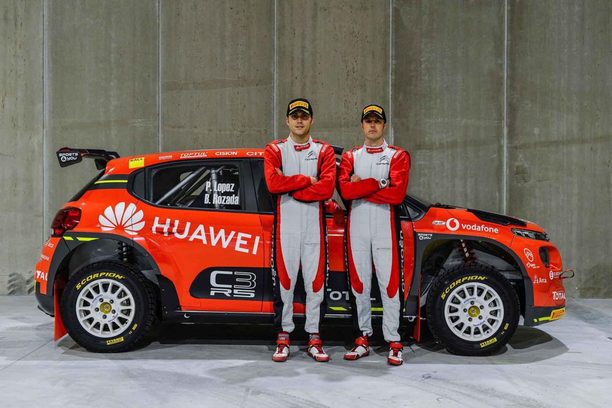 El Citroën Rallye Team defenderá el título del S-CER con Pepe López