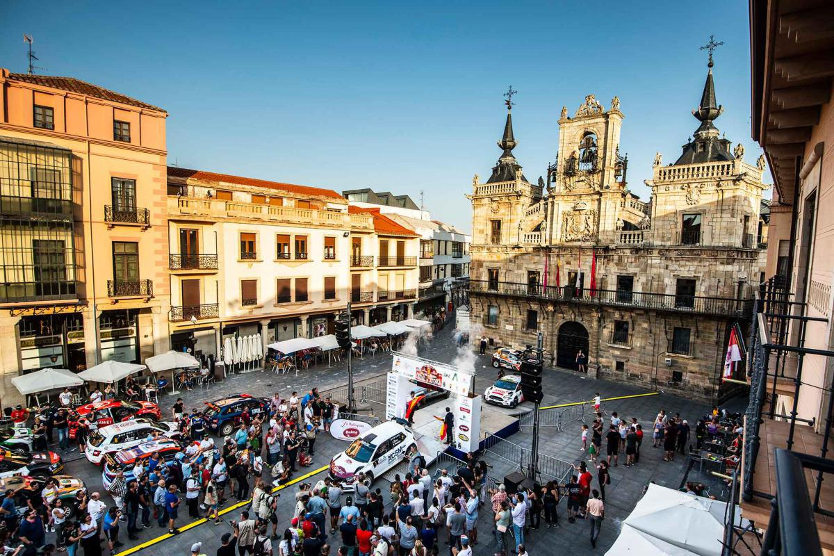 El Rallye Reino de León, aplazado a 2021