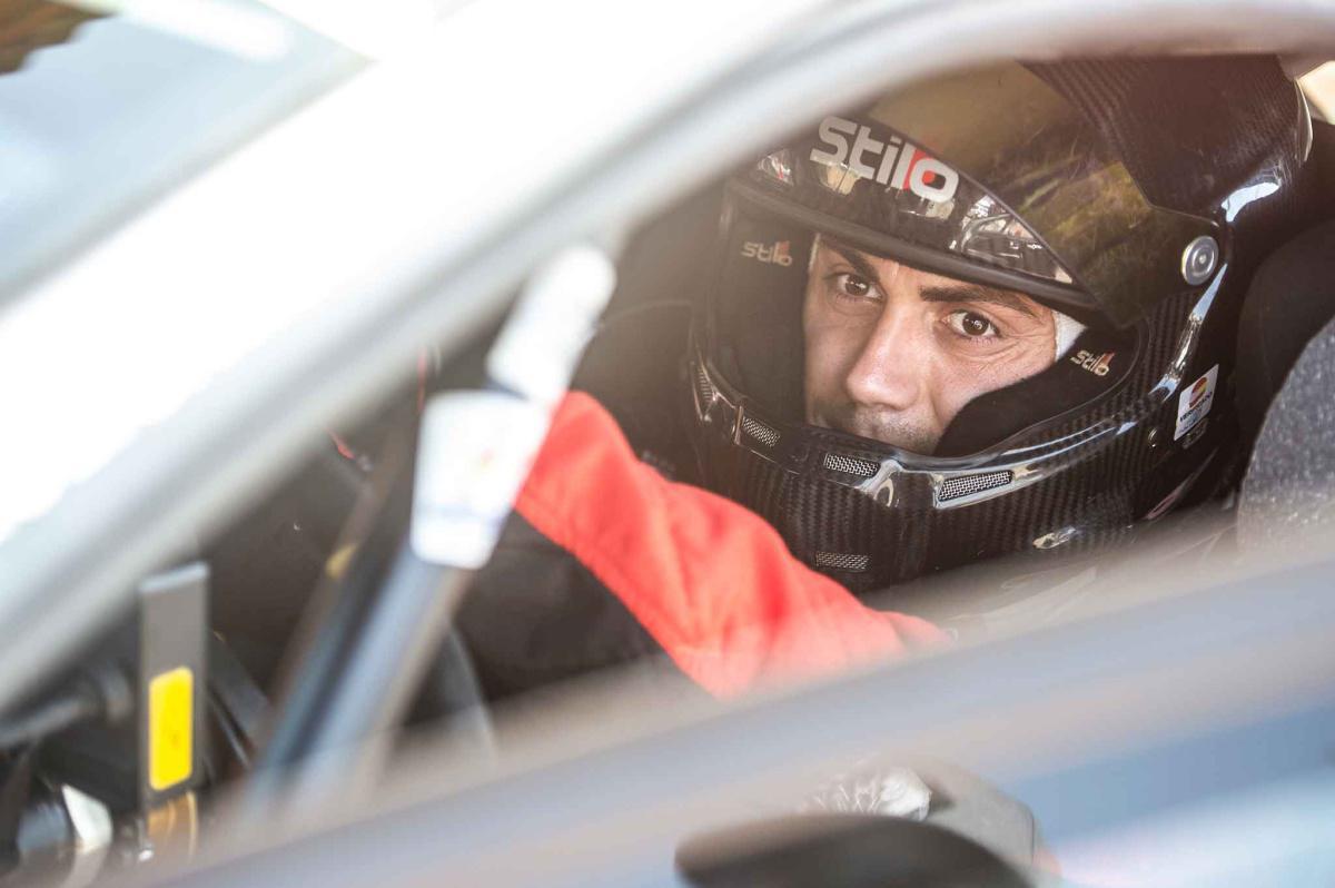 Pepe López rueda en Portugal antes del Rallye Terra da Auga