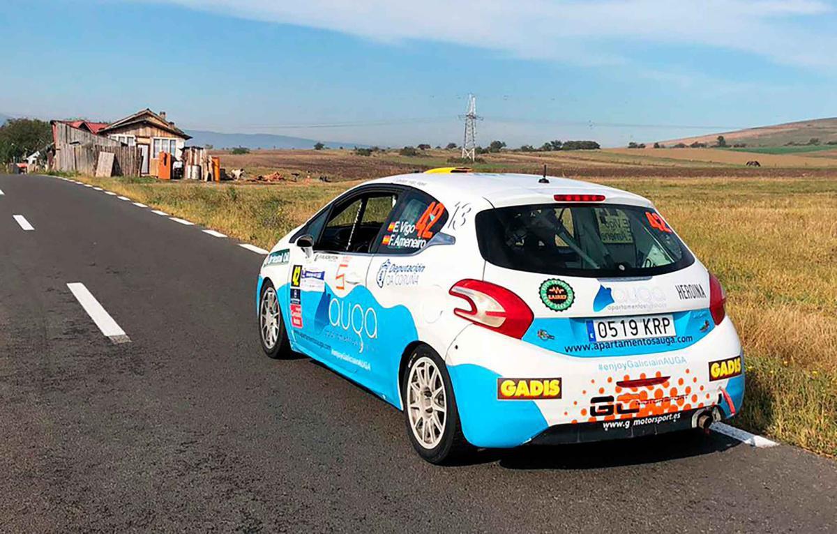 Segundo puesto para Édgar Vigo entre los 2RM del TER en el Rallye Transilvania