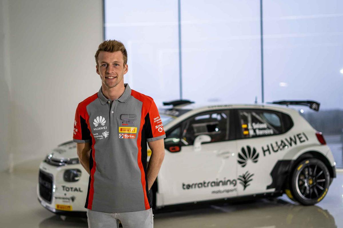 Jan Solans, nuevo piloto del Citroën Rally Team