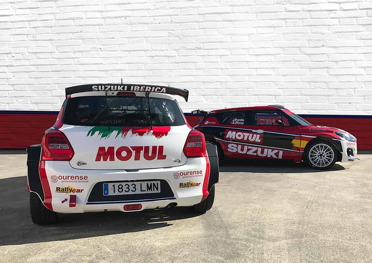 Suzuki Motorsport apuesta todo al rojo