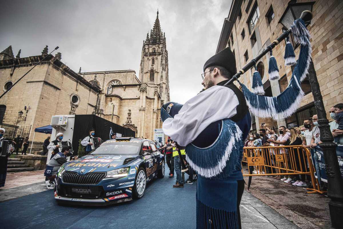 'Cohete' Suárez, el rival a batir en un rallye declarado Fiesta de Interés Turístico Nacional