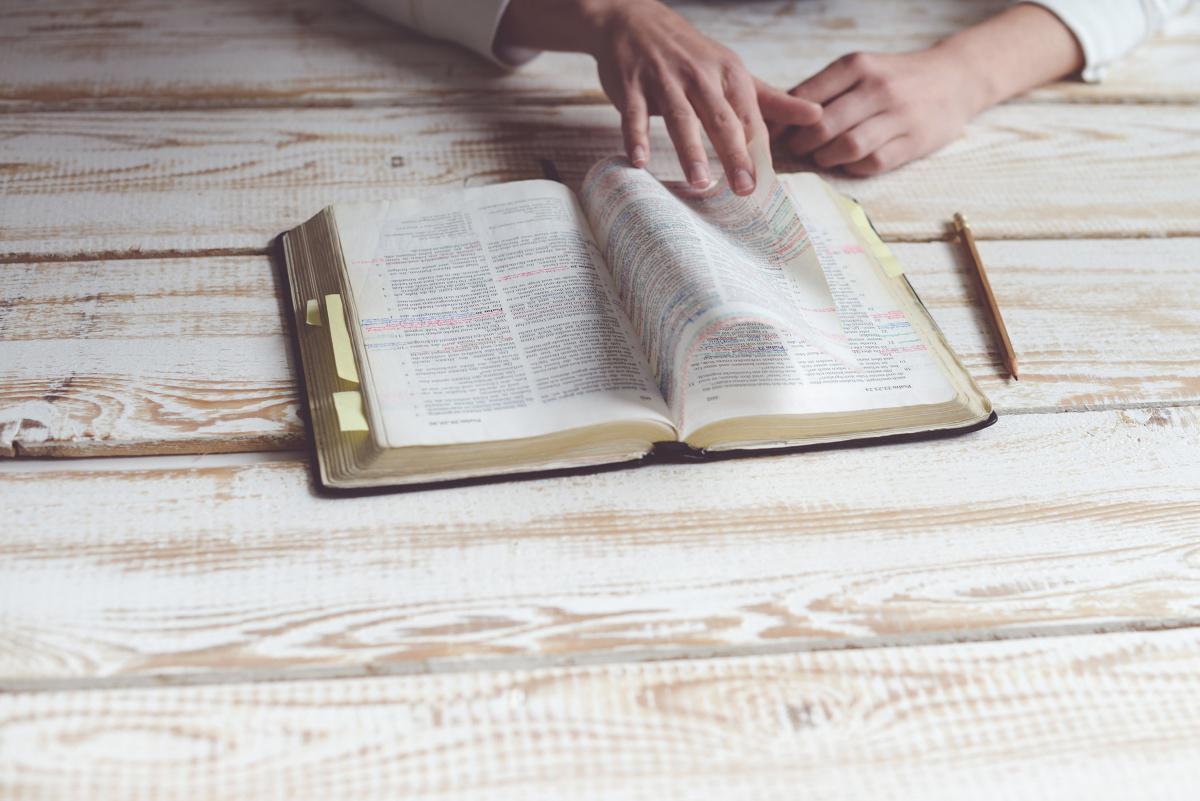 Bibelstudium av Finn Olav Pedersen