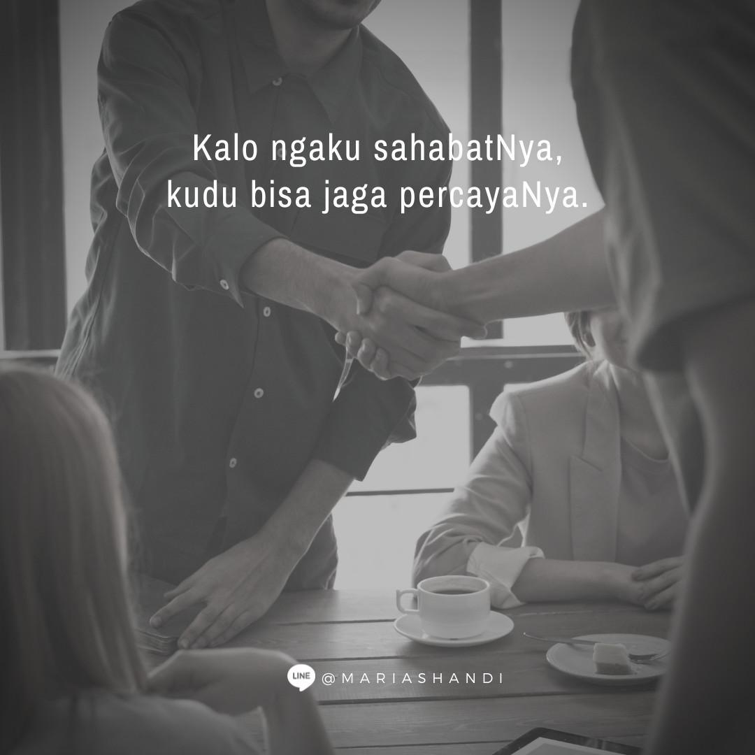 Kualitas Seorang Sahabat