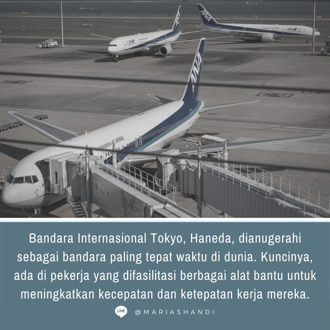 Bandara Paling On-Time di Planet Ini