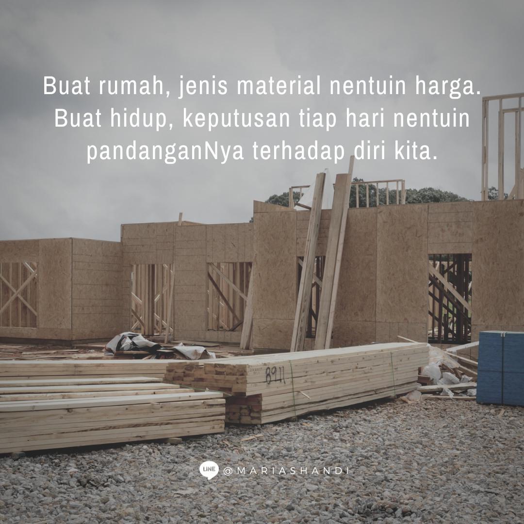Material Bangunan Hidup