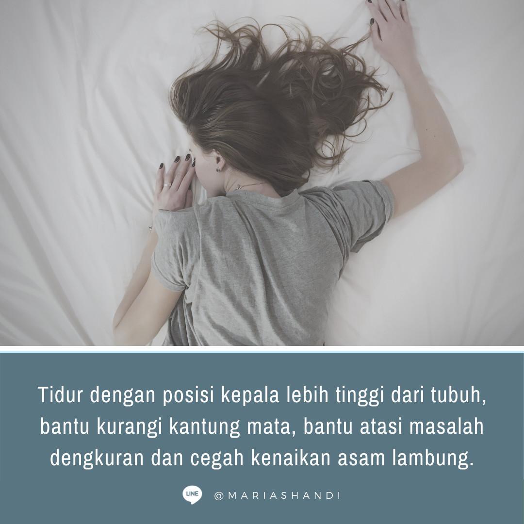 Kebiasaan Tidur & Keriput