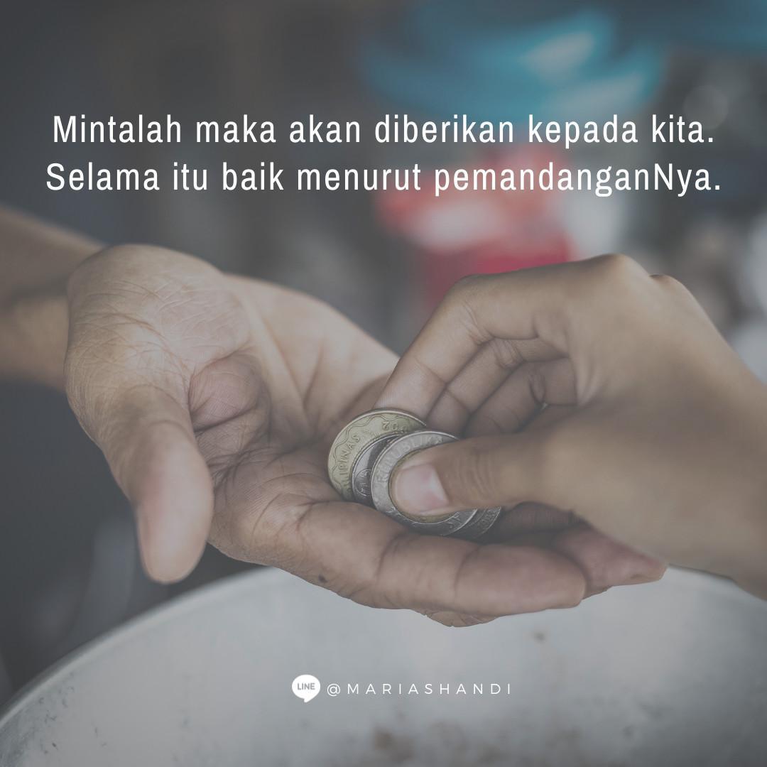 Minta dalam Doa