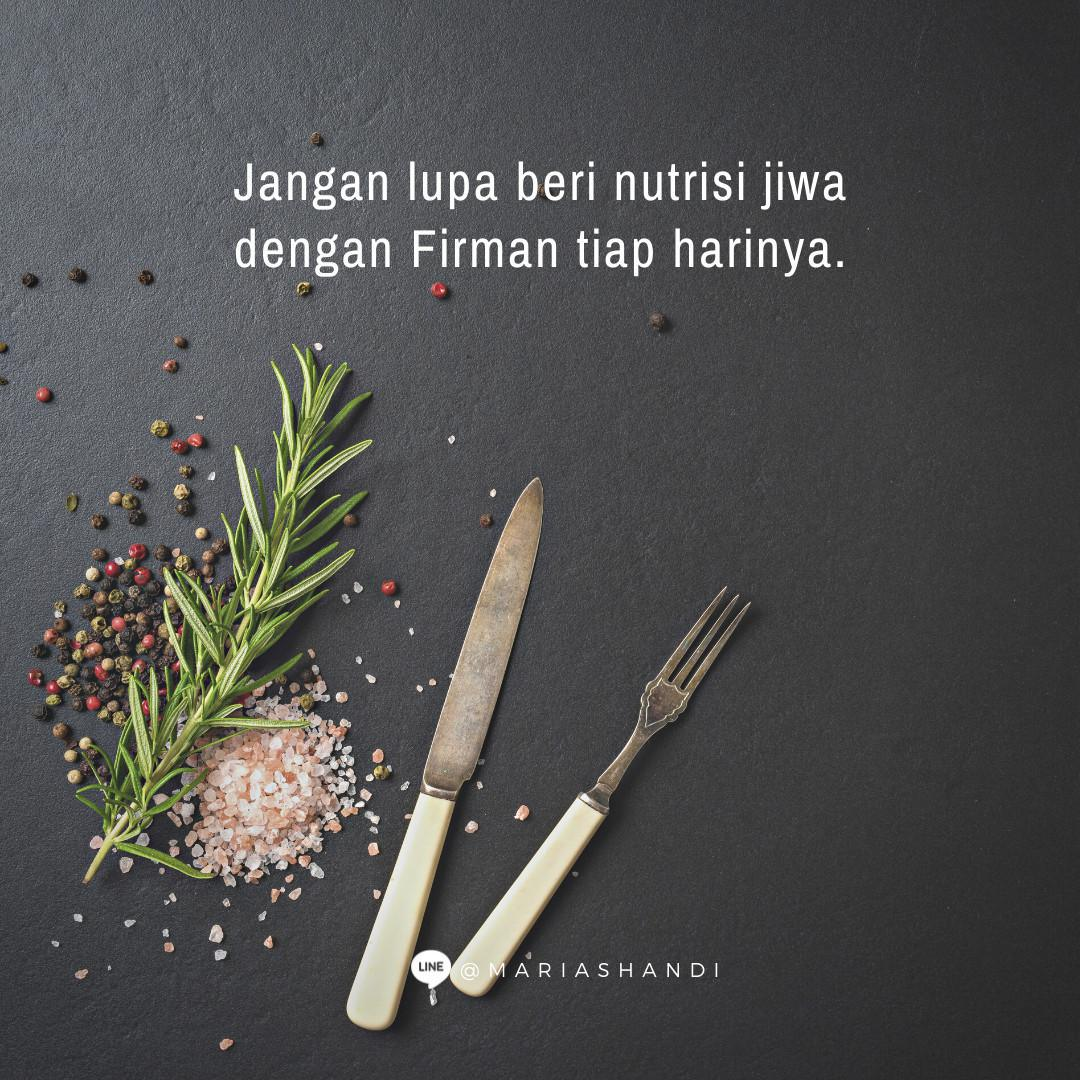 Nutrisi Jiwa