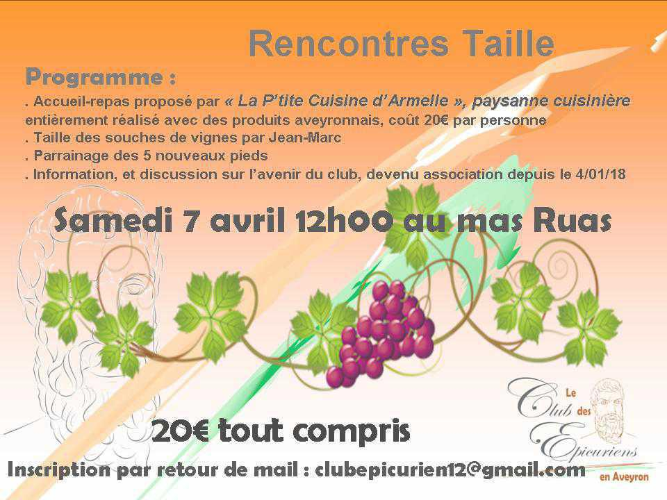 Rencontres Taille
