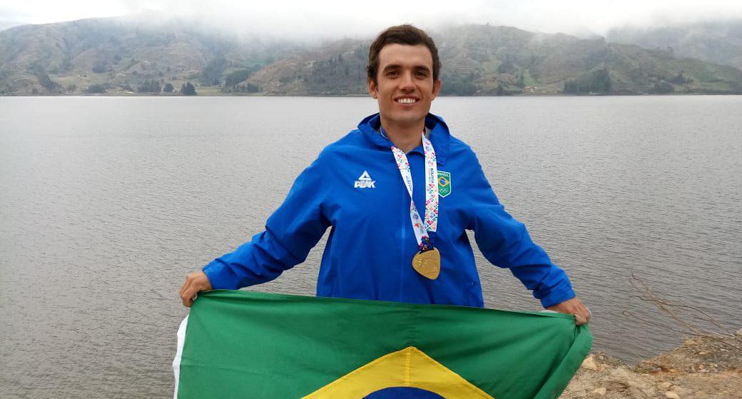Ouro de novo: Brasil campeão da classe Laser nos Jogos Sul-Americanos