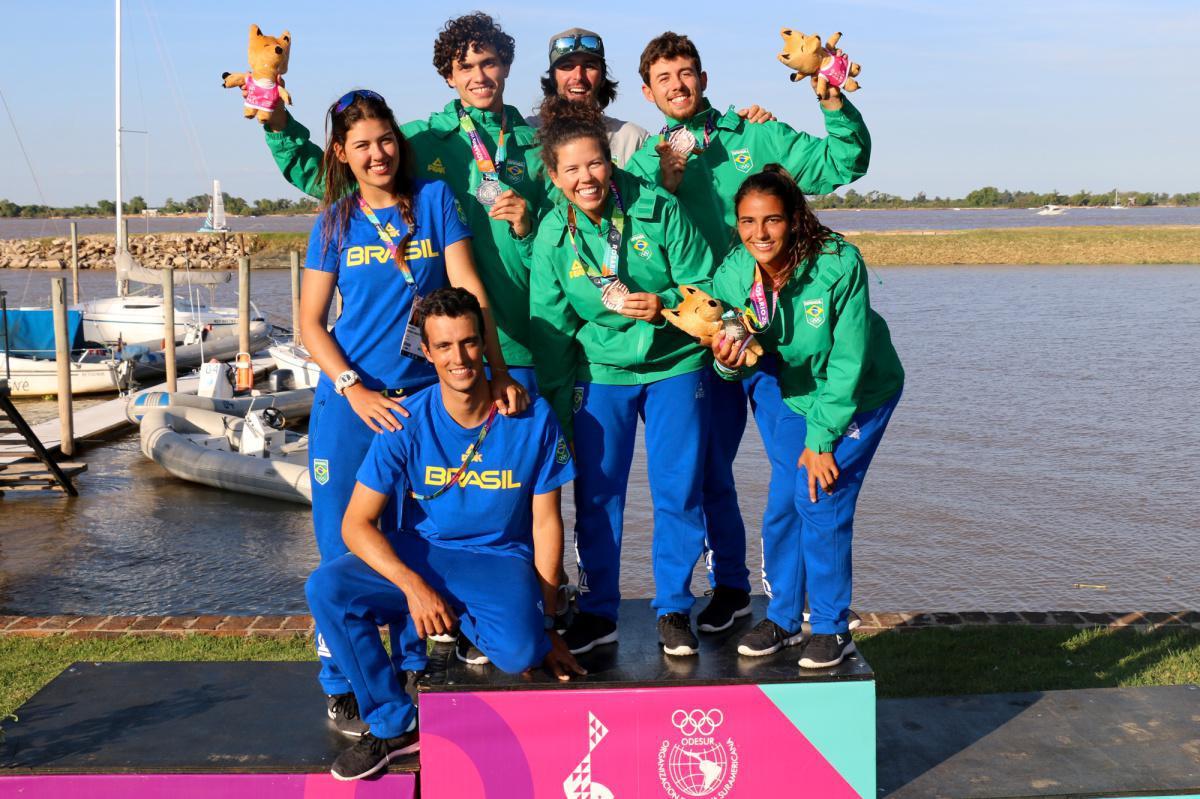 Brasil conquista quatro medalhas nos Jogos Sul-Americamos de Praia